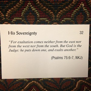 Verse for week of Aug 5 2013