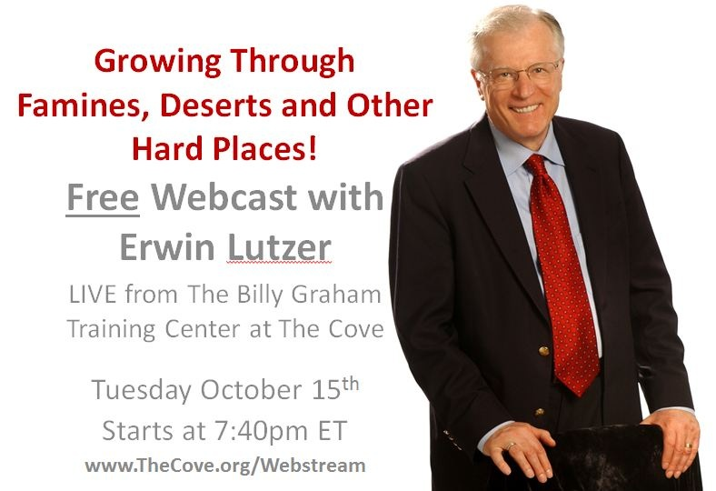 Erwin Lutzer Webcast October 15 2013