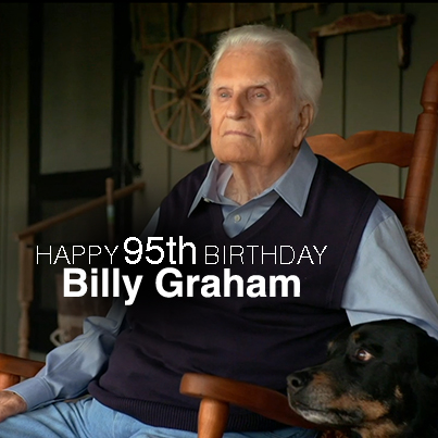 Billy Graham 95 Birthday