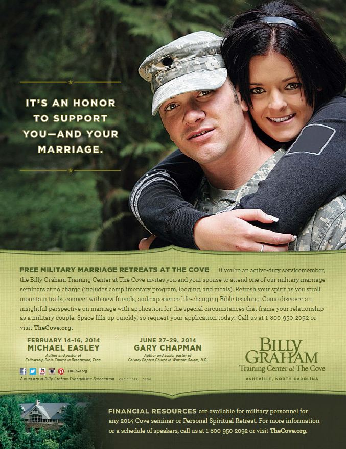 2014 Military Marriage flyer