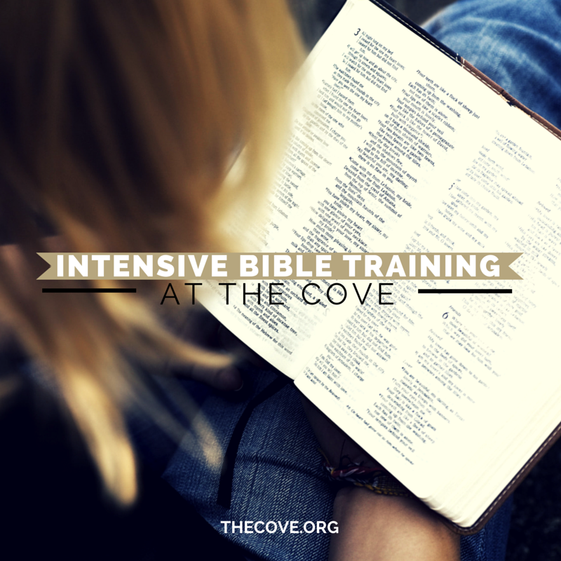 INTENSIVE bIBLE tRAINING AT tHE COVE(1)