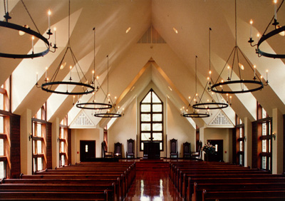 Billy Graham Chapel - Interior Worship