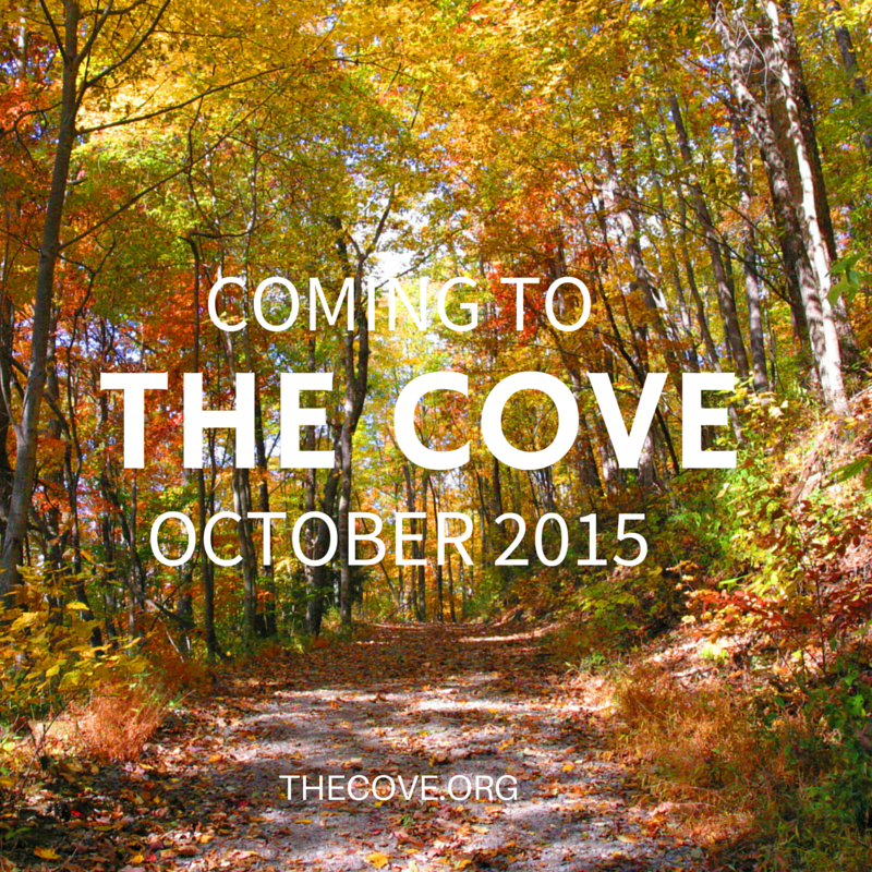 COMING TO THE COVE OCTOBER 2015
