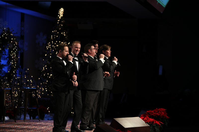 Veritas at Christmas at The Cove