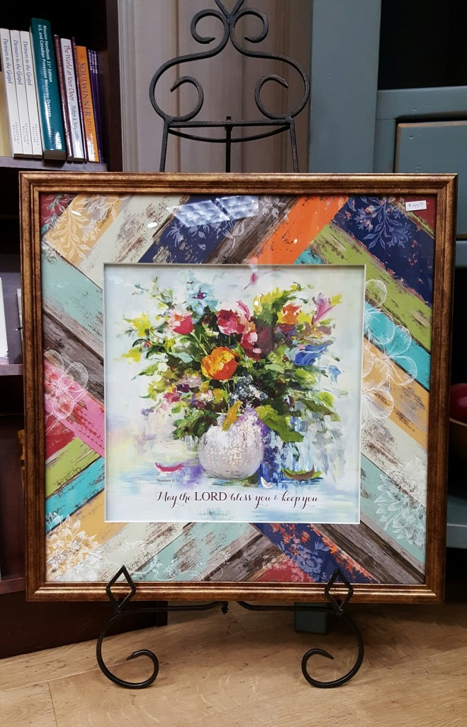 Flower arrangement painting, $145.00