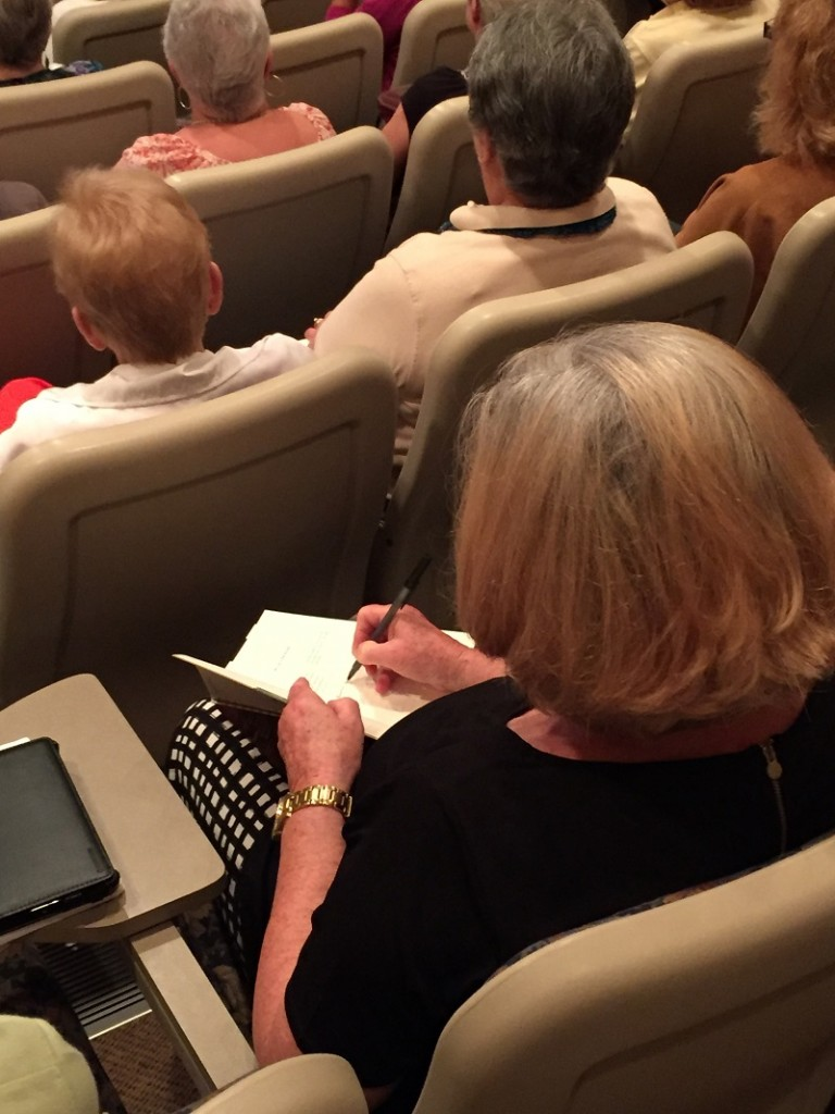 studying the word of god at lisa harper seminar august 2016