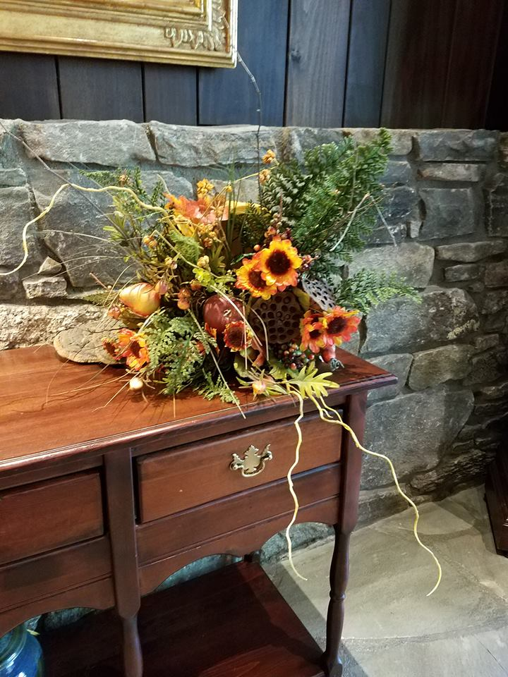 fall boquet in TC