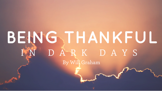Blog Title Being Thankful In Dark Days