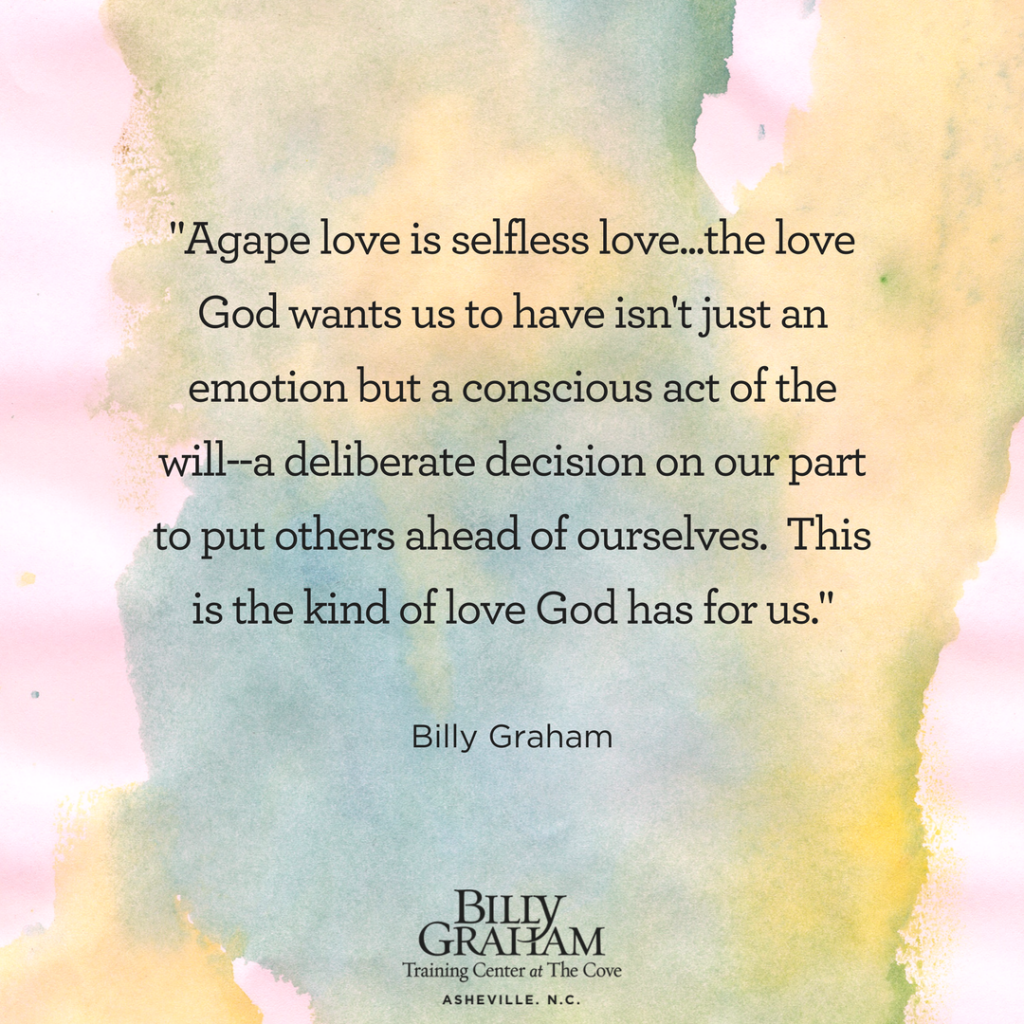 God Quotes 5 Quotes From Billy Graham On The Love Of God  Notes From The Cove