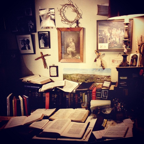 Ruth Graham desk