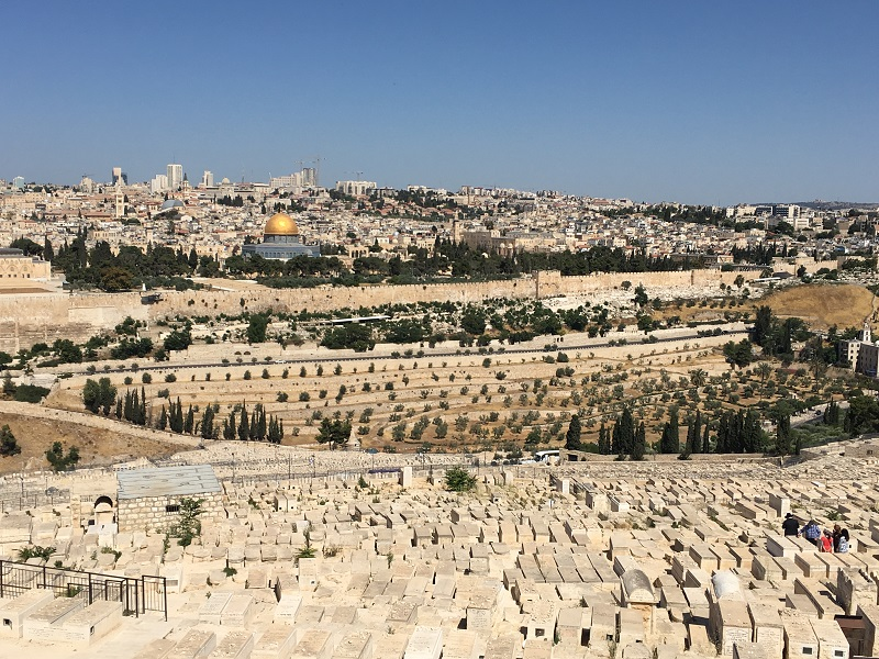 View from Mount of Olives from KG 2017 Trip sm