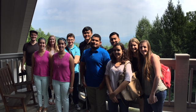 2017 interns at the cove