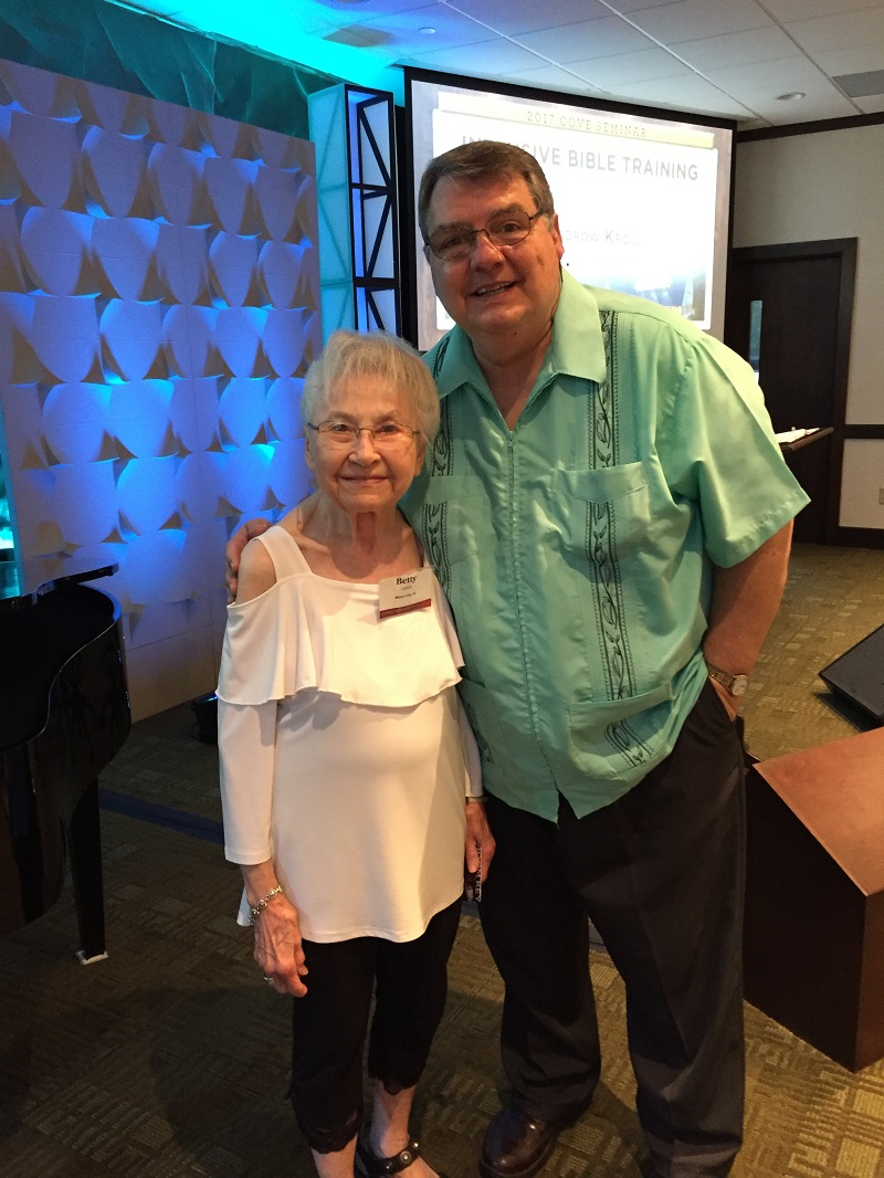Betty and Dr Kroll Her 20 or 21 visit of his 23 July 2017