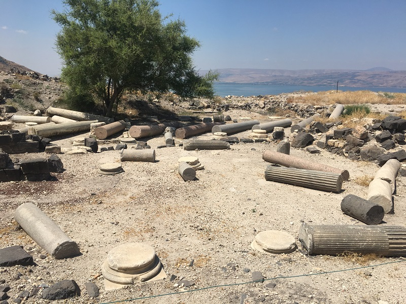 Ruins of the old city of Decapolis